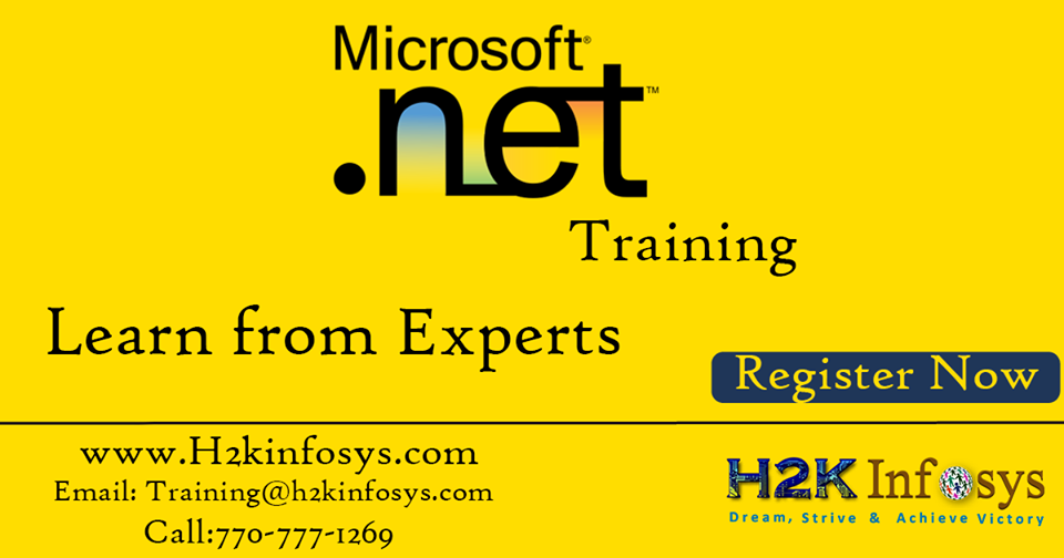 Dot Net Online Training with Placement Assistance