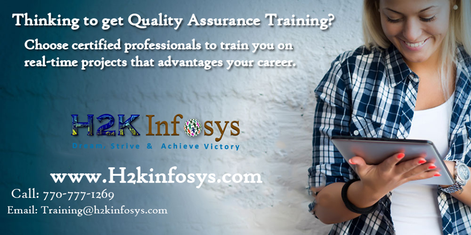 QA Online Training and Job Assistance