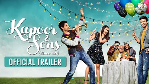 kapoor sons official trailer