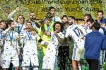 Kashima, Club World cup, real madrid clinches its 3rd title this year, Cristiano ronaldo
