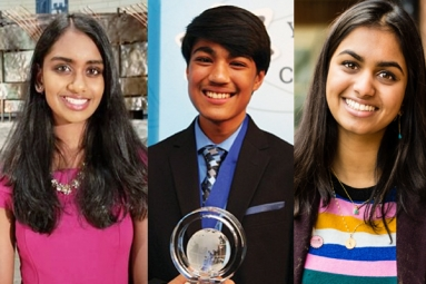 Three Indian-Origin Students in Time's Most Influential Teens 2018