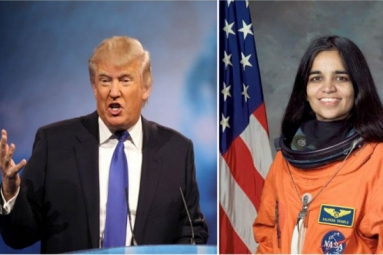 US President Donald Trump hails Kalpana Chawla as American hero