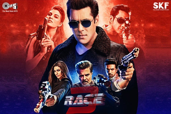 Race 3 Hindi Movie - Show Timings