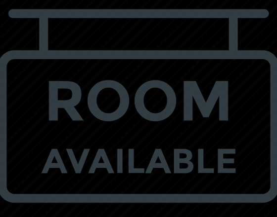 Separate room available